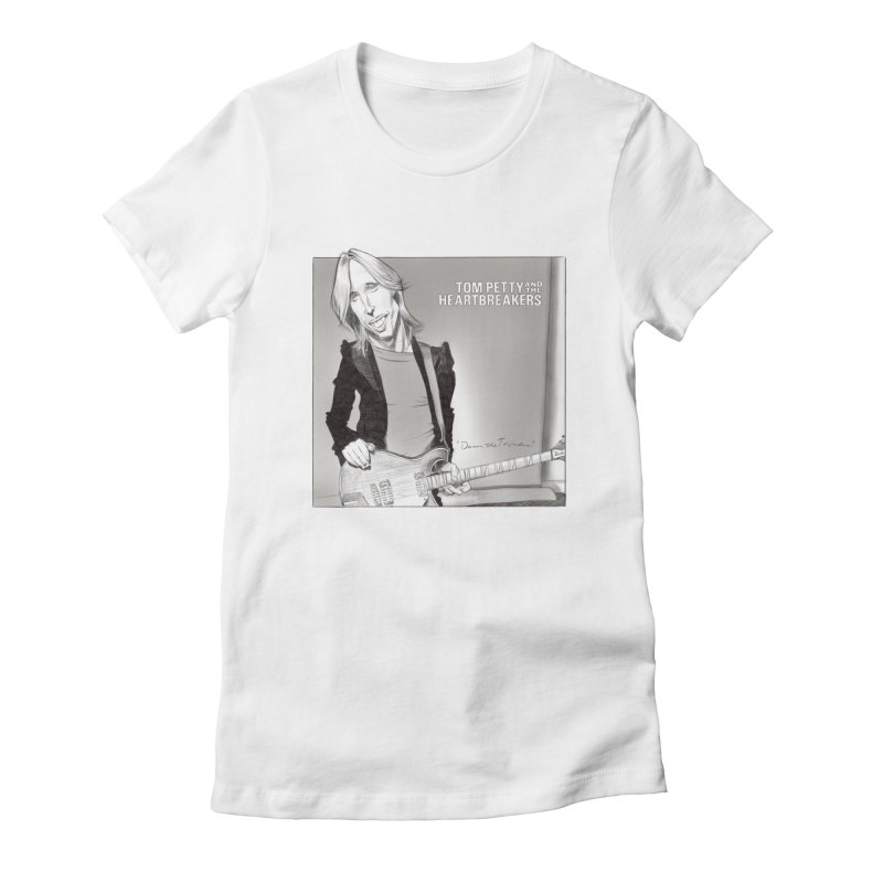 Tom Petty Women's T-Shirt by goofyink's Artist Shop
