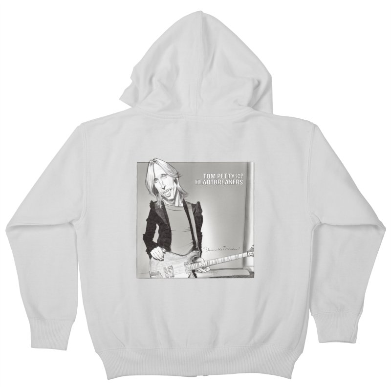 Tom Petty Kids Zip-Up Hoody by goofyink's Artist Shop