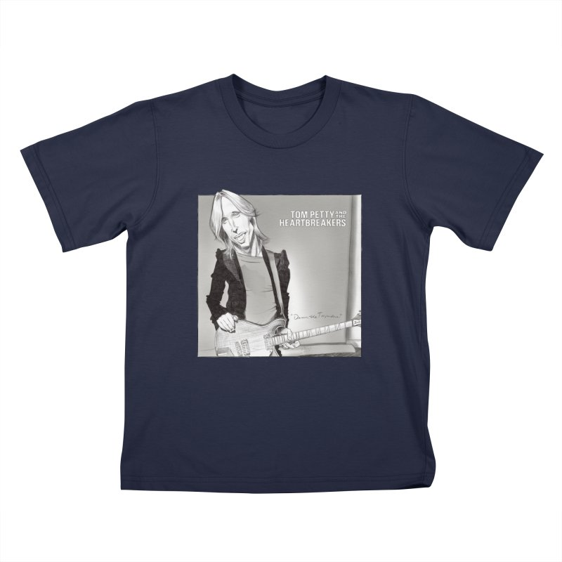 Tom Petty Kids T-Shirt by goofyink's Artist Shop