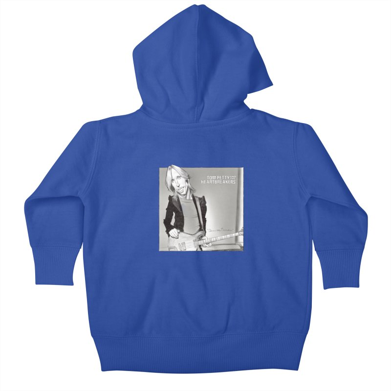 Tom Petty Kids Baby Zip-Up Hoody by goofyink's Artist Shop