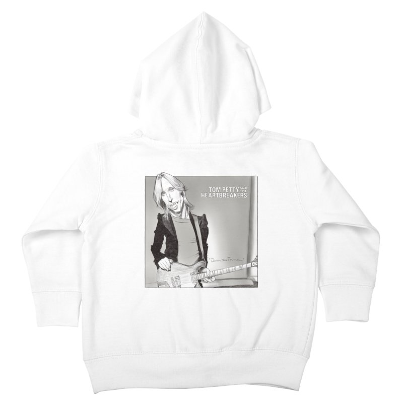 Tom Petty Kids Toddler Zip-Up Hoody by goofyink's Artist Shop