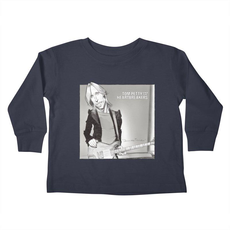 Tom Petty Kids Toddler Longsleeve T-Shirt by goofyink's Artist Shop