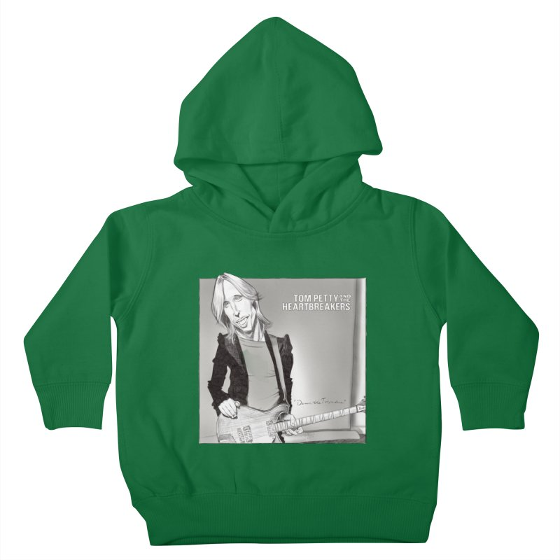 Tom Petty Kids Toddler Pullover Hoody by goofyink's Artist Shop