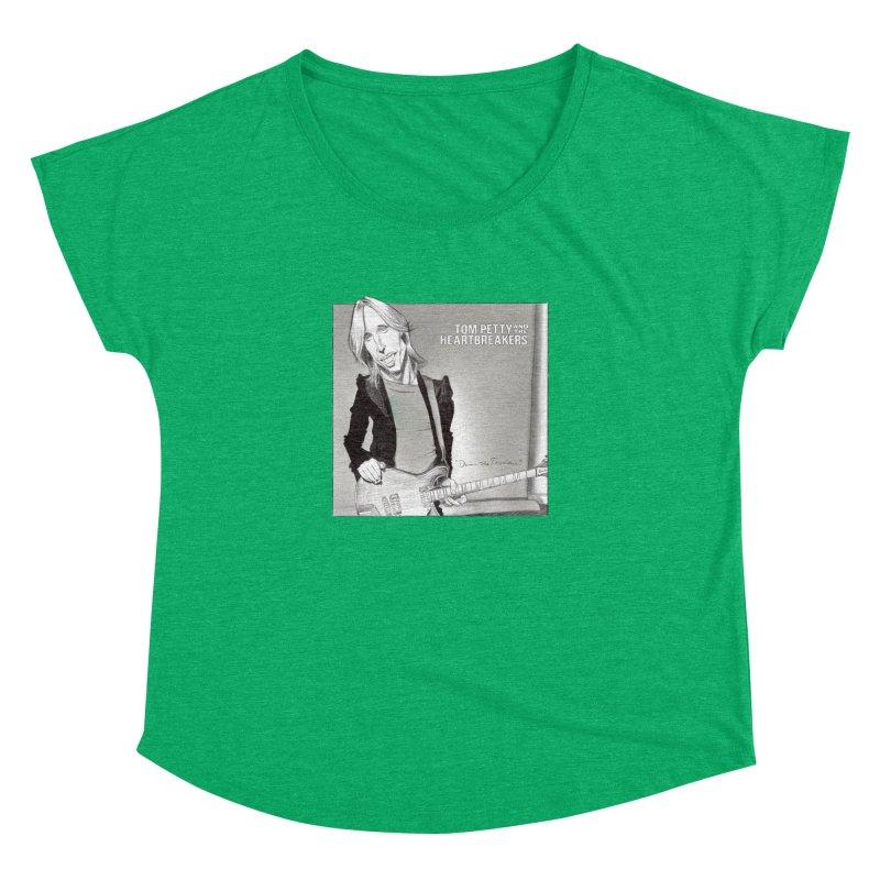 Tom Petty Women's Dolman Scoop Neck by goofyink's Artist Shop
