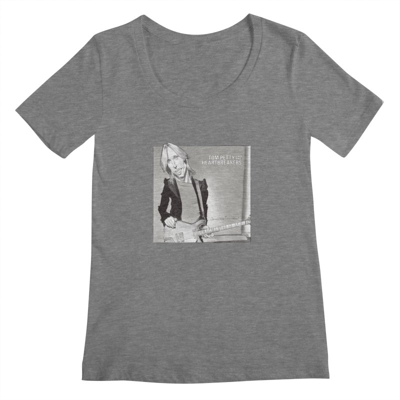 Tom Petty Women's Scoopneck by goofyink's Artist Shop
