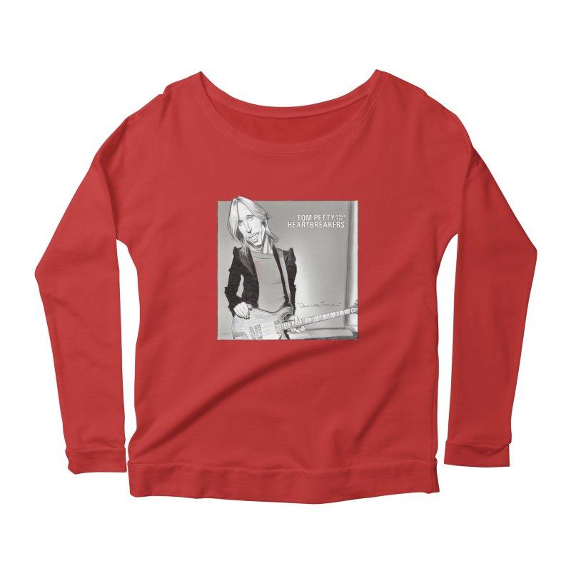 Tom Petty Women's Scoop Neck Longsleeve T-Shirt by goofyink's Artist Shop