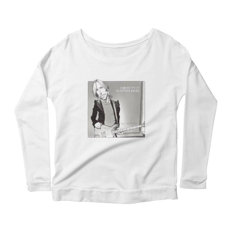 Tom Petty Women's Longsleeve T-Shirt by goofyink's Artist Shop
