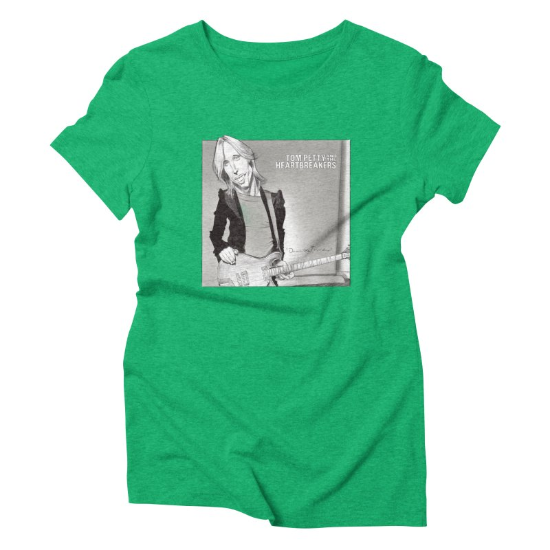 Tom Petty Women's Triblend T-Shirt by goofyink's Artist Shop