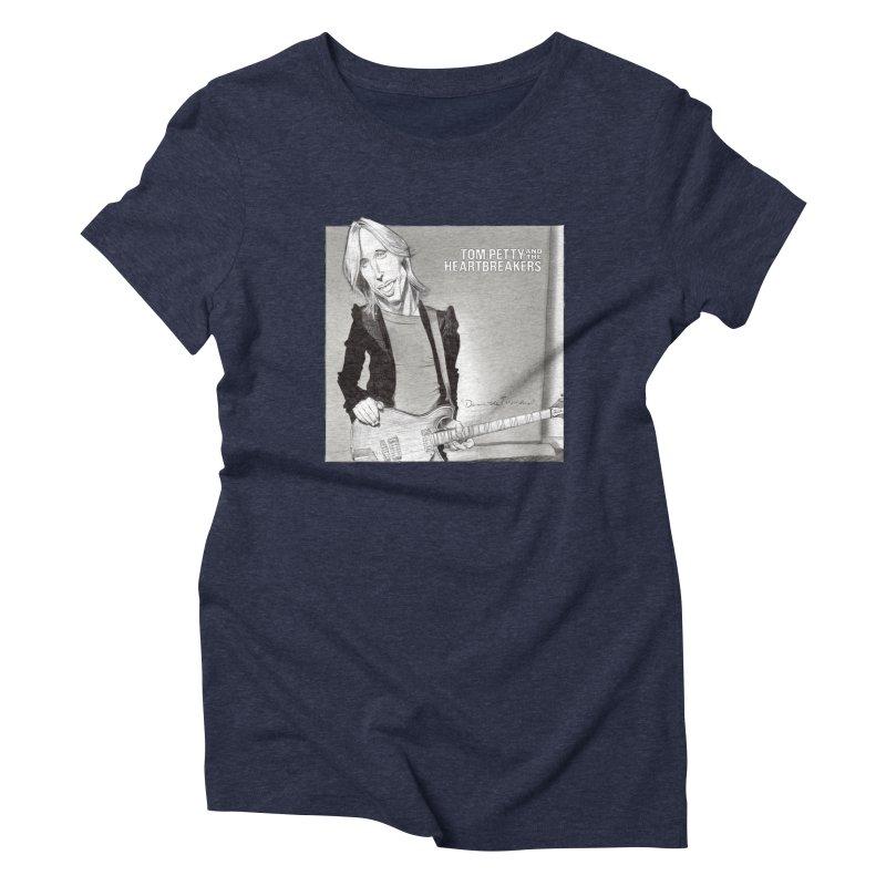 Tom Petty Women's Triblend T-Shirt by goofyink's Artist Shop