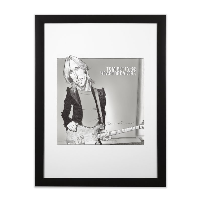 Tom Petty Home Framed Fine Art Print by goofyink's Artist Shop