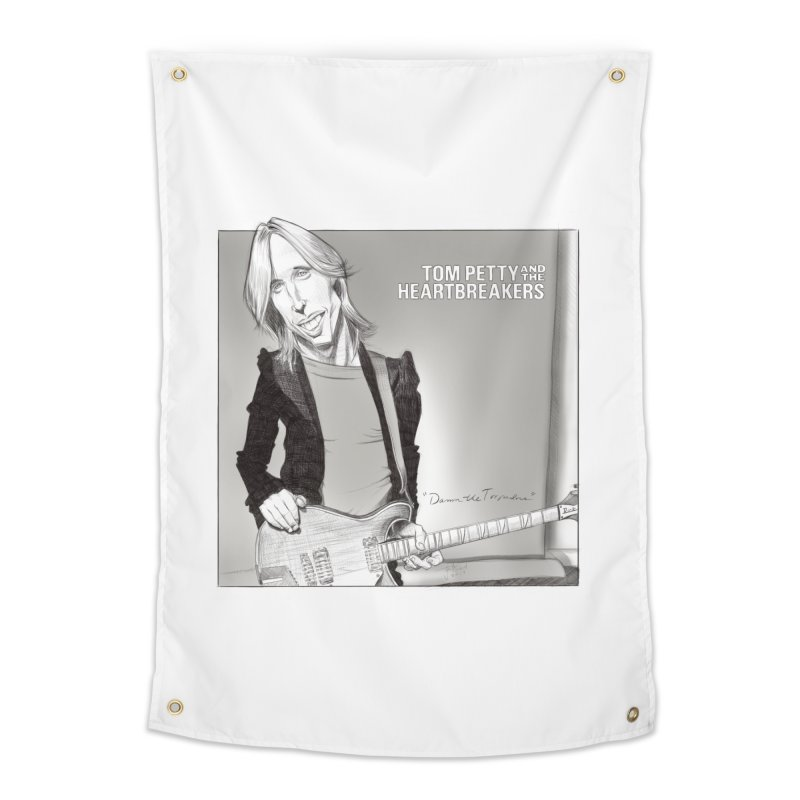 Tom Petty Home Tapestry by goofyink's Artist Shop
