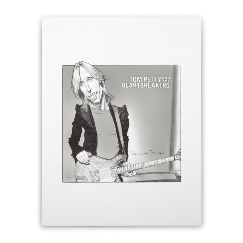 Tom Petty Home Stretched Canvas by goofyink's Artist Shop