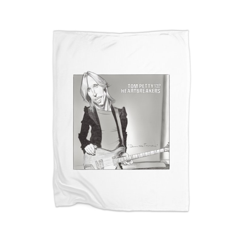 Tom Petty Home Blanket by goofyink's Artist Shop