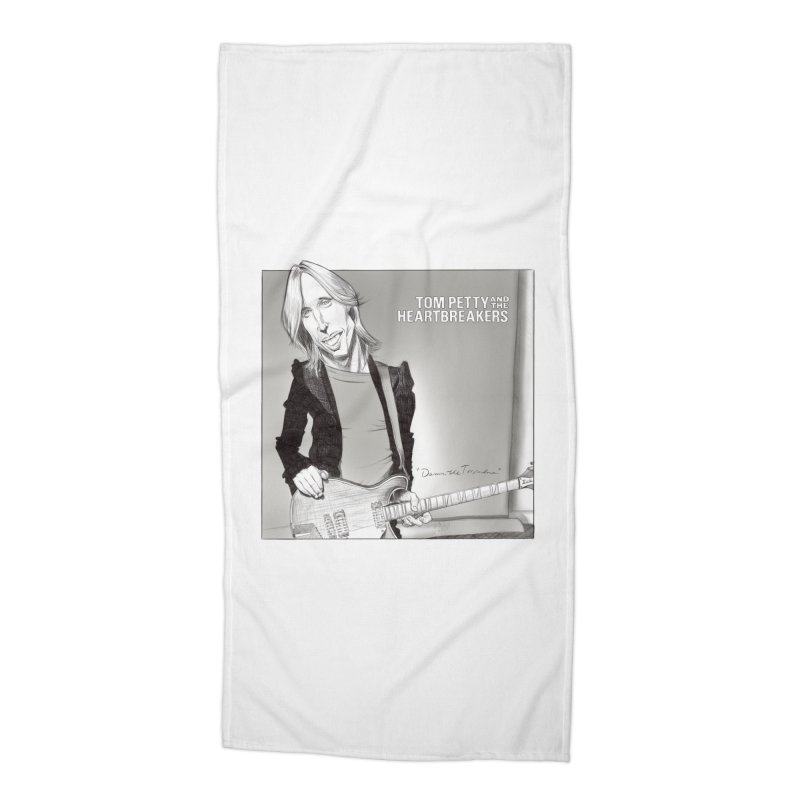 Tom Petty Accessories Beach Towel by goofyink's Artist Shop