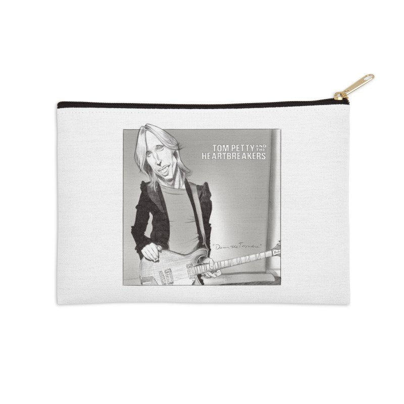 Tom Petty Accessories Zip Pouch by goofyink's Artist Shop