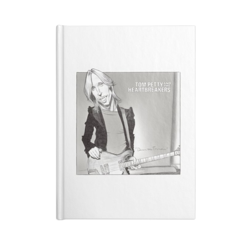Tom Petty Accessories Notebook by goofyink's Artist Shop