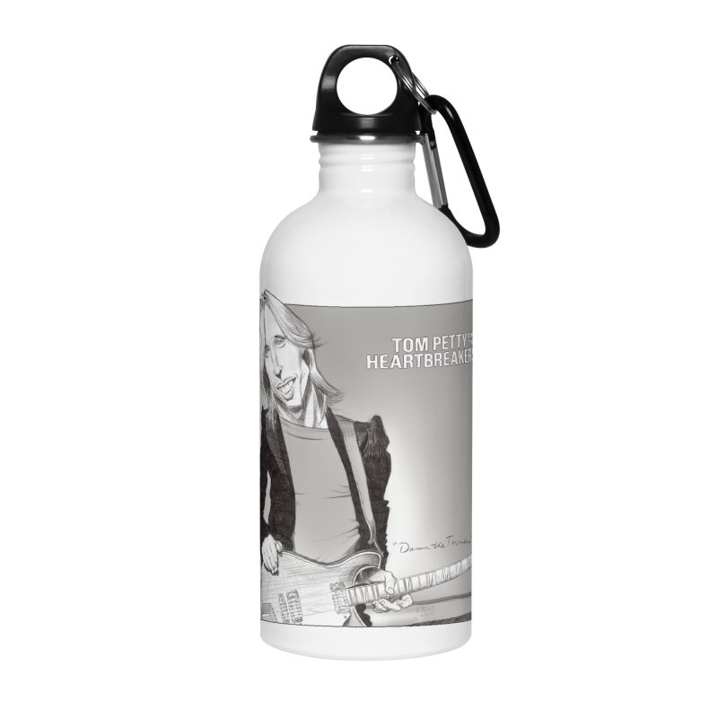 Tom Petty Accessories Water Bottle by goofyink's Artist Shop