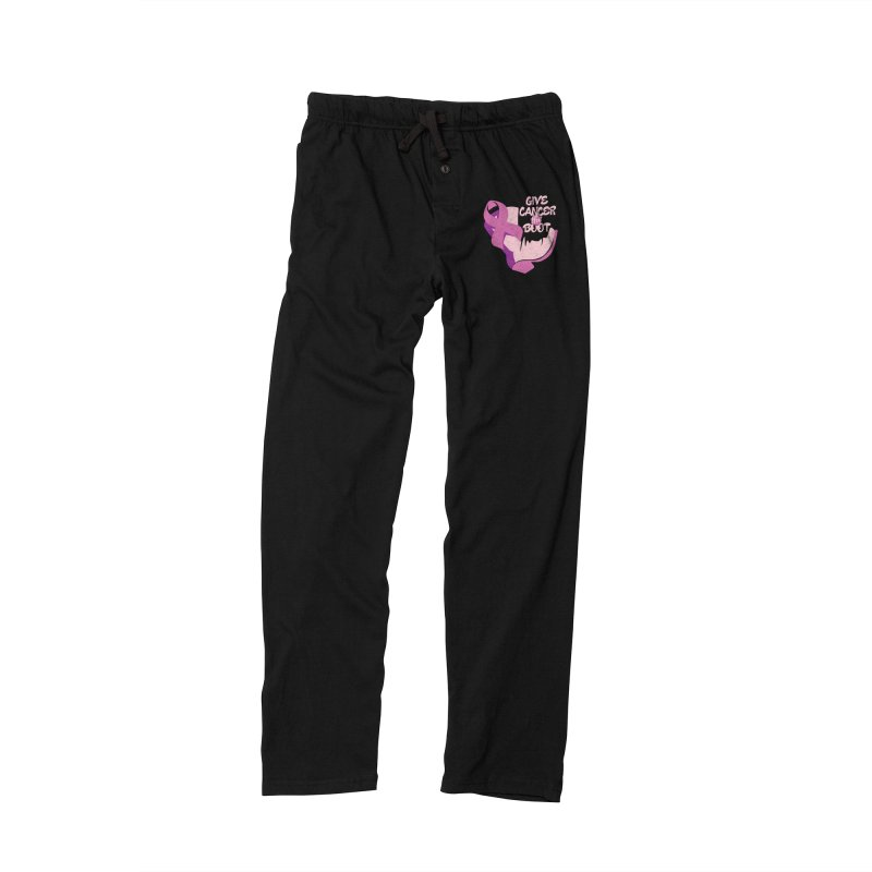 Give Cancer the Boot Women's Lounge Pants by goofyink's Artist Shop