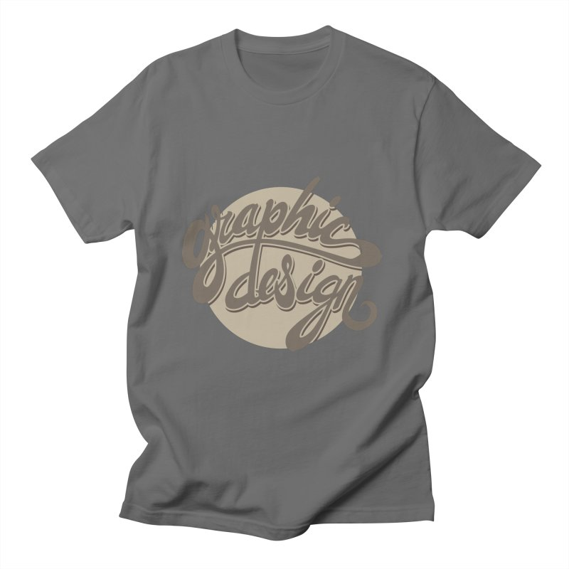 Graphic Design Men's T-Shirt by goofyink's Artist Shop