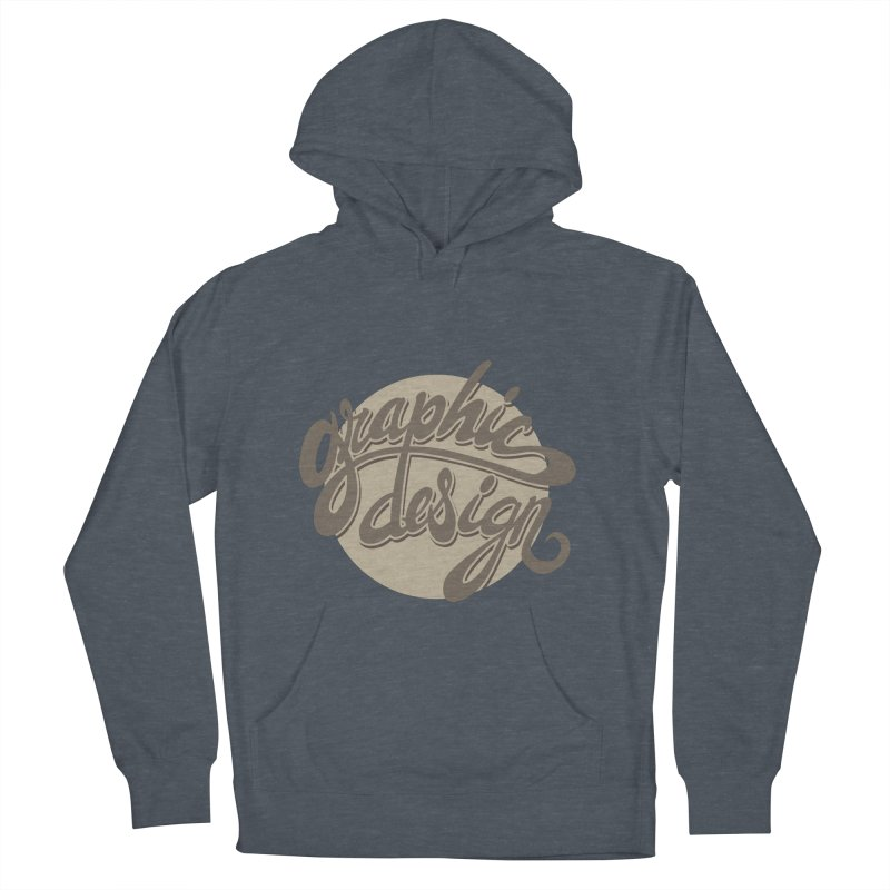 Graphic Design Men's French Terry Pullover Hoody by goofyink's Artist Shop