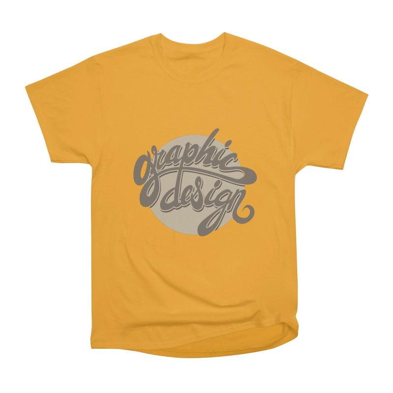 Graphic Design Women's Heavyweight Unisex T-Shirt by goofyink's Artist Shop
