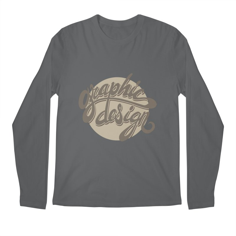 Graphic Design Men's Regular Longsleeve T-Shirt by goofyink's Artist Shop
