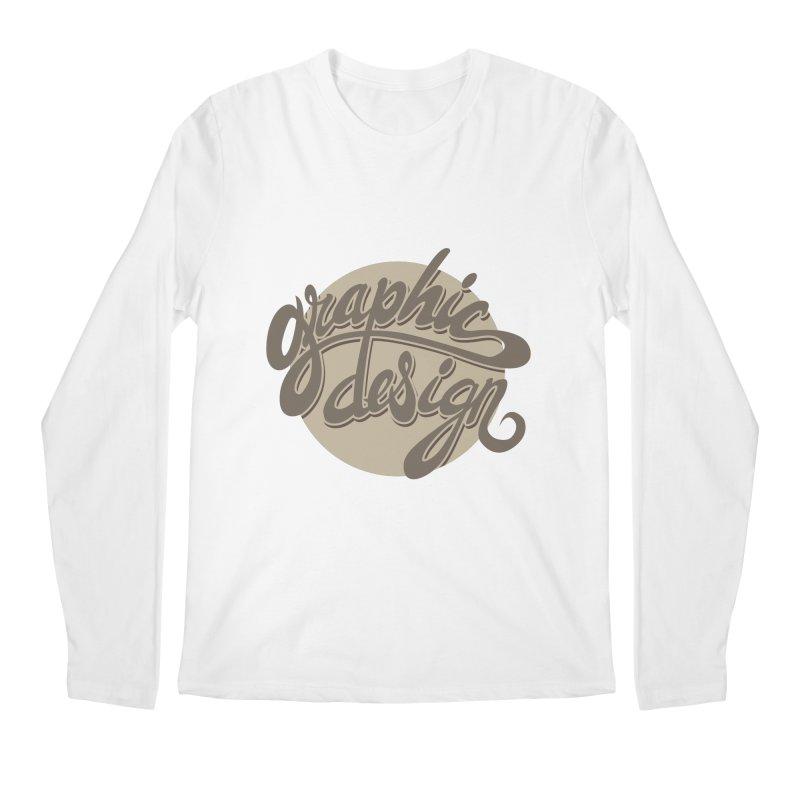 Graphic Design Men's Regular Longsleeve T-Shirt by goofyink's Artist Shop