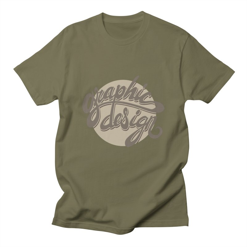 Graphic Design Women's Regular Unisex T-Shirt by goofyink's Artist Shop