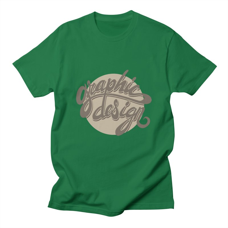 Graphic Design Men's Regular T-Shirt by goofyink's Artist Shop