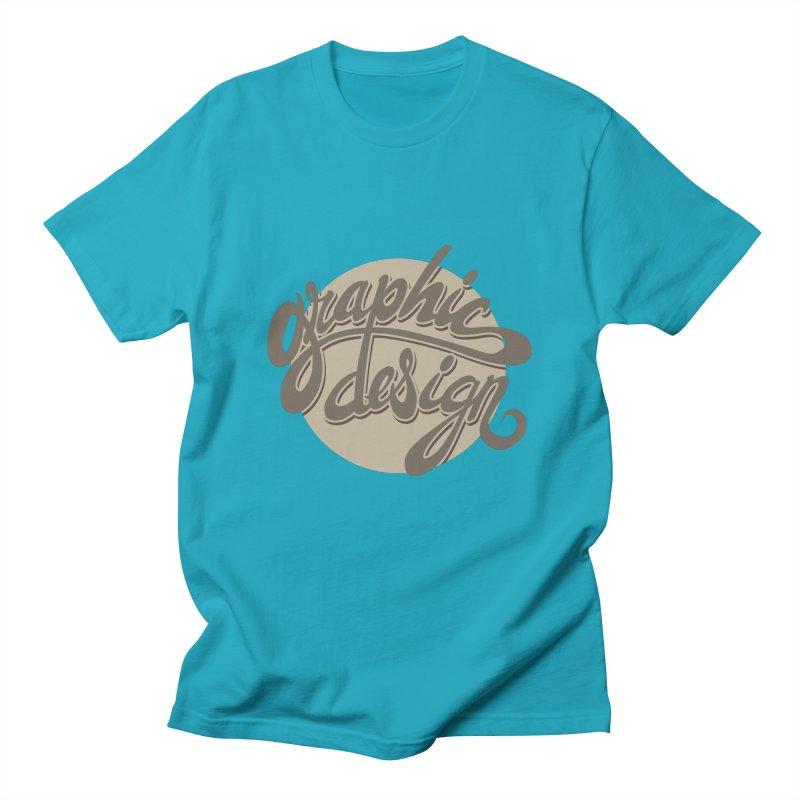 Graphic Design Men's Regular T-Shirt by goofyink's Artist Shop