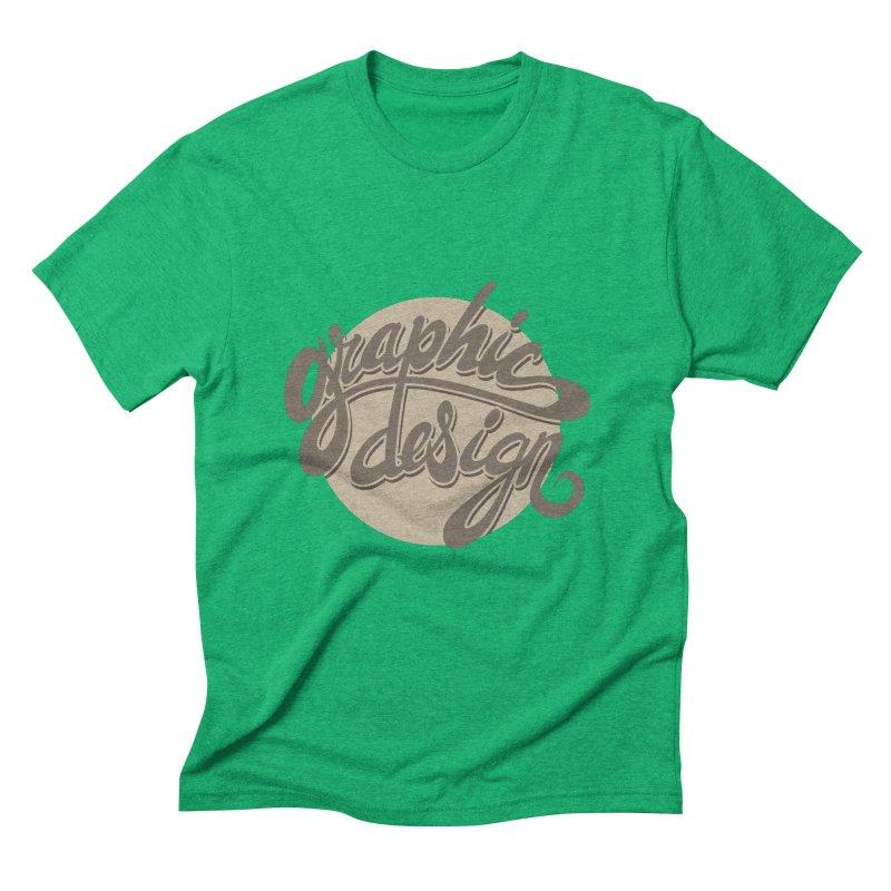Graphic Design Men's Triblend T-Shirt by goofyink's Artist Shop