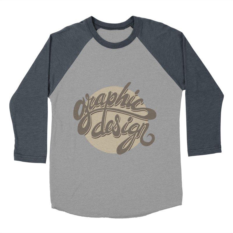 Graphic Design Women's Baseball Triblend T-Shirt by goofyink's Artist Shop