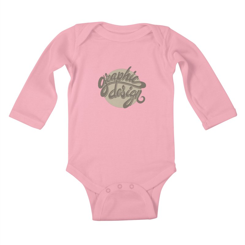 Graphic Design Kids Baby Longsleeve Bodysuit by goofyink's Artist Shop