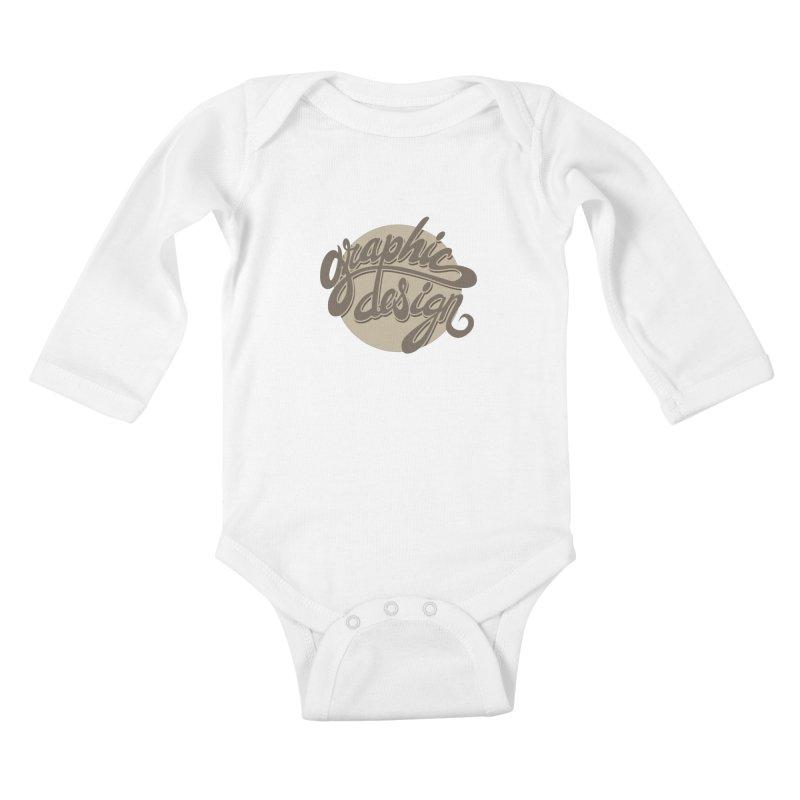Graphic Design Kids Baby Longsleeve Bodysuit by goofyink's Artist Shop