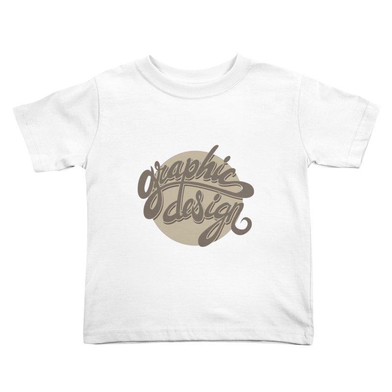 Graphic Design Kids Toddler T-Shirt by goofyink's Artist Shop