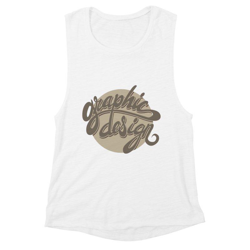 Graphic Design Women's Tank by goofyink's Artist Shop