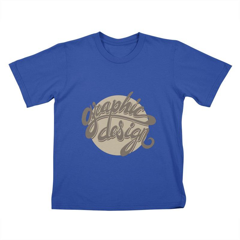 Graphic Design Kids T-Shirt by goofyink's Artist Shop