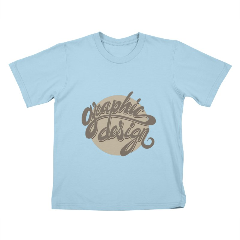 Graphic Design Kids T-Shirt by goofyink's Artist Shop
