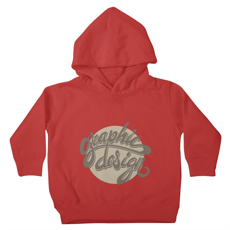 Graphic Design Kids Toddler Pullover Hoody by goofyink's Artist Shop