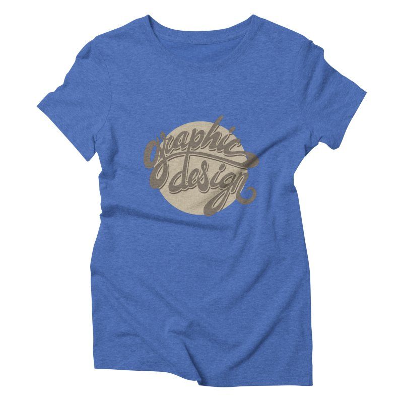 Graphic Design Women's Triblend T-Shirt by goofyink's Artist Shop