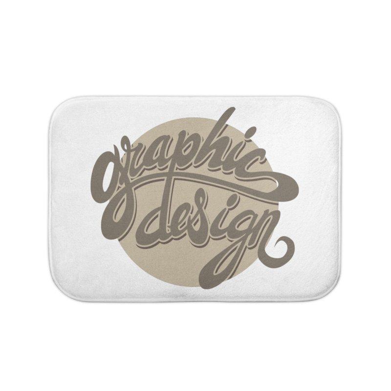 Graphic Design Home Bath Mat by goofyink's Artist Shop