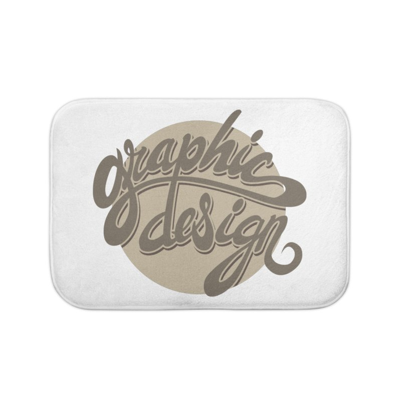 Graphic Design Home Bath Mat by goofyink's Artist Shop