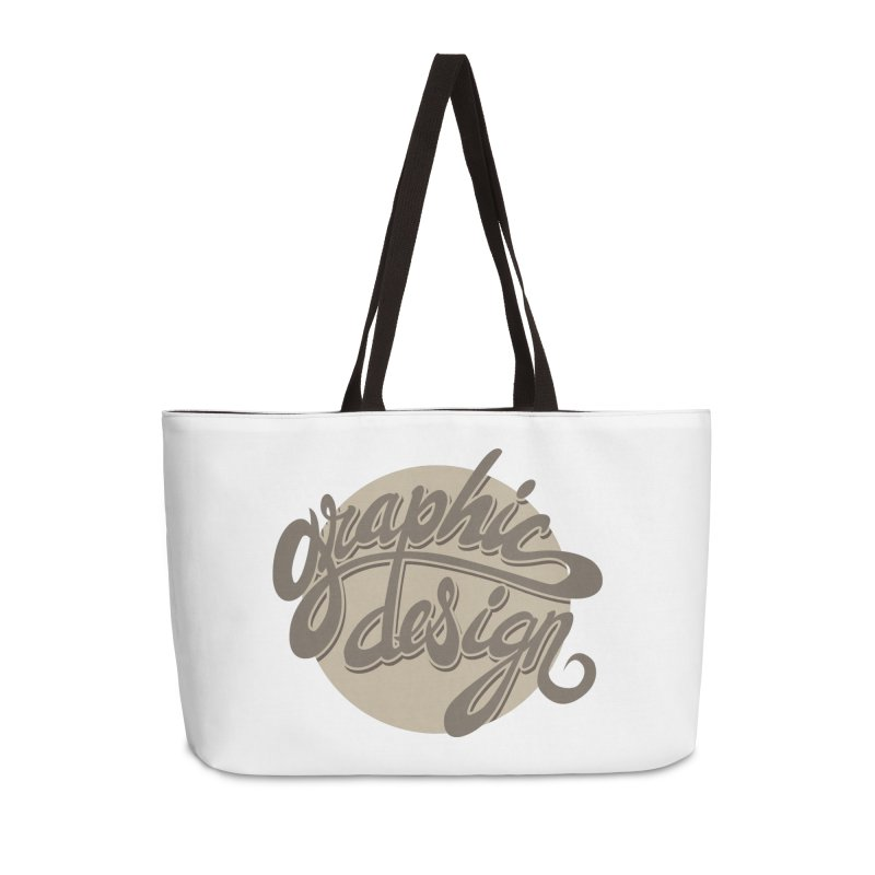 Graphic Design Accessories Weekender Bag Bag by goofyink's Artist Shop