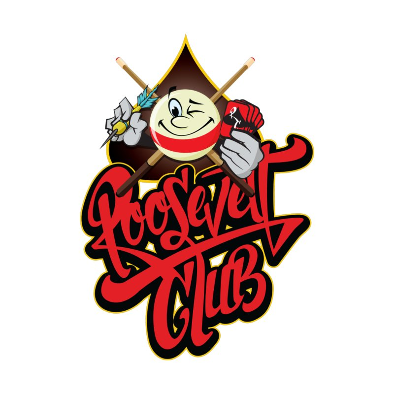 Roosevelt Club Logo Women's Zip-Up Hoody by goofyink's Artist Shop