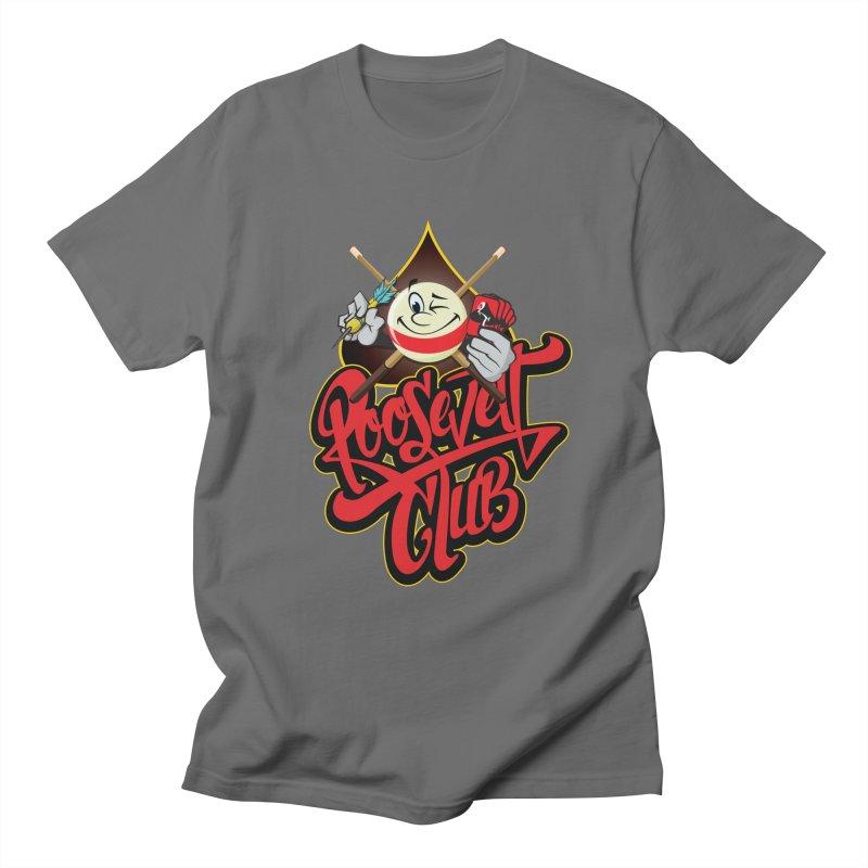 Roosevelt Club Logo Men's T-Shirt by goofyink's Artist Shop
