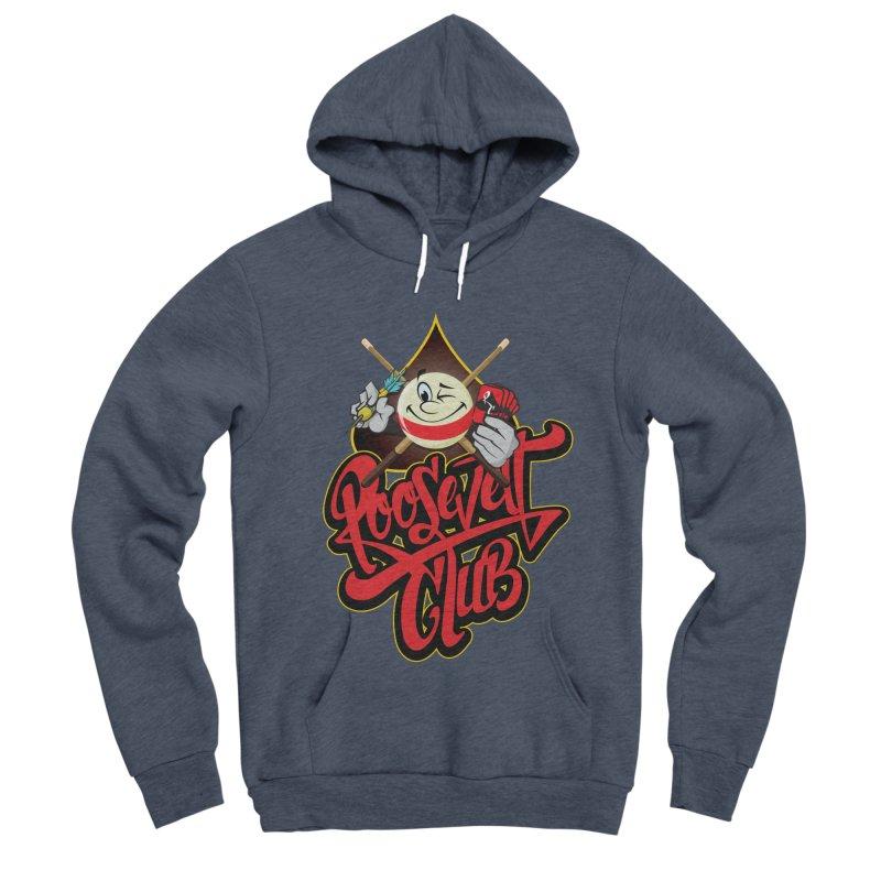 Roosevelt Club Logo Women's Sponge Fleece Pullover Hoody by goofyink's Artist Shop