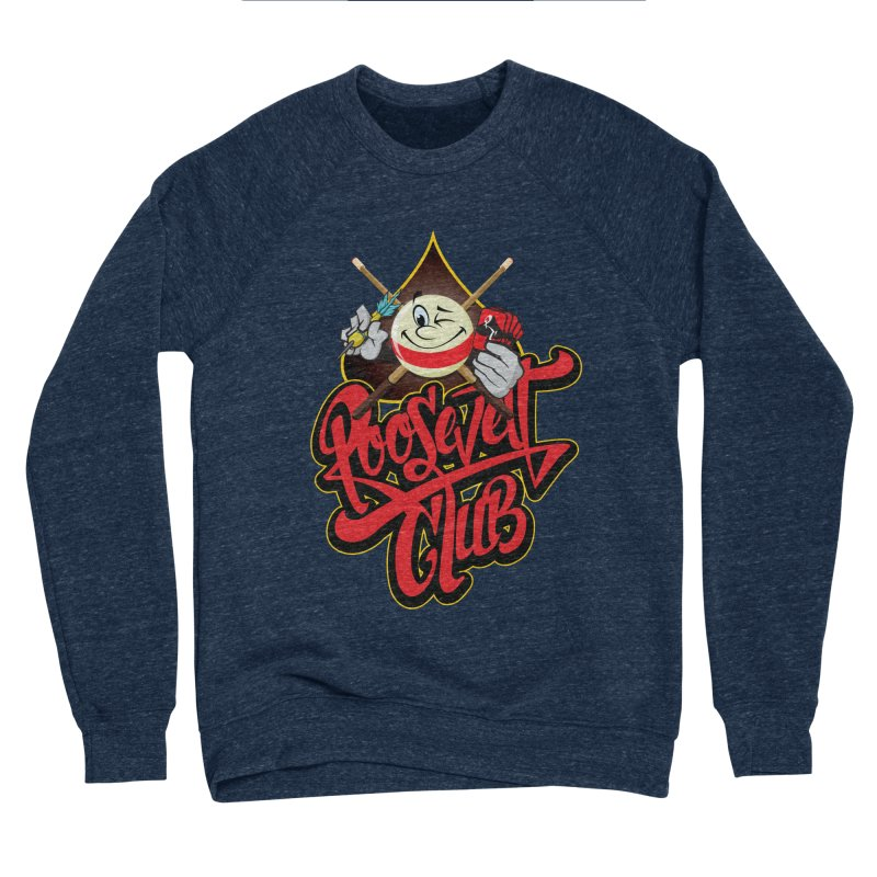 Roosevelt Club Logo Women's Sponge Fleece Sweatshirt by goofyink's Artist Shop