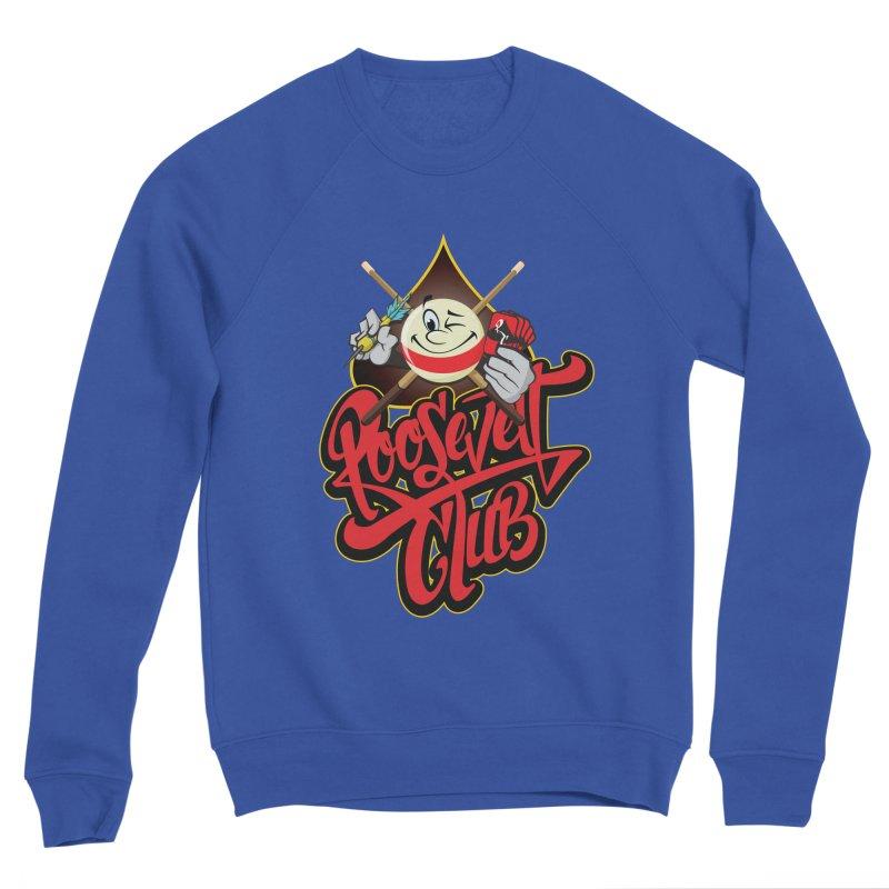 Roosevelt Club Logo Men's Sponge Fleece Sweatshirt by goofyink's Artist Shop