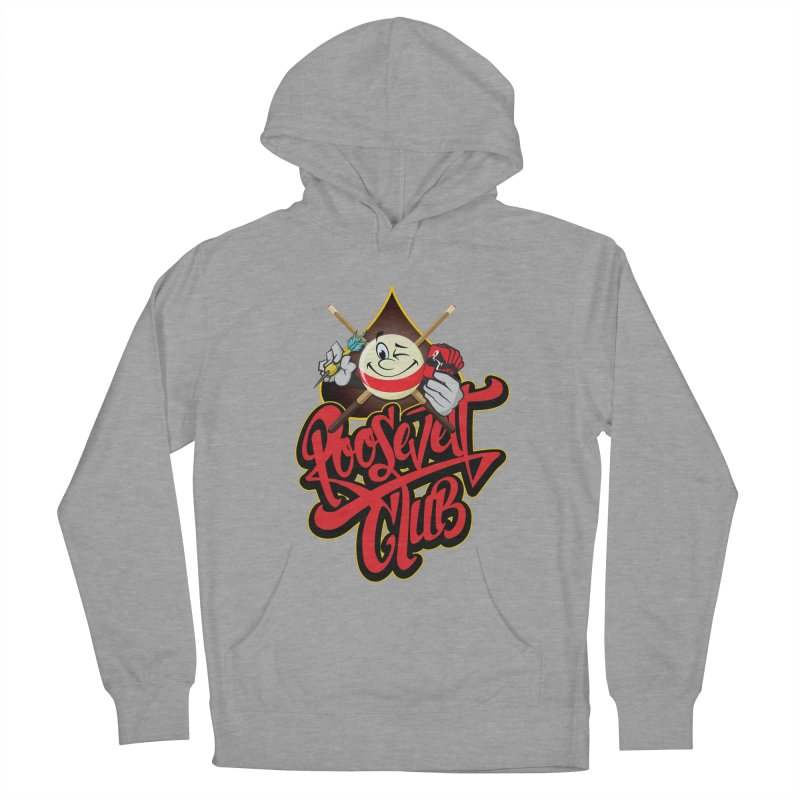 Roosevelt Club Logo Women's French Terry Pullover Hoody by goofyink's Artist Shop