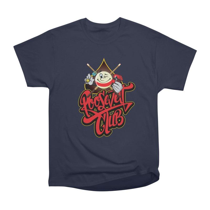 Roosevelt Club Logo Men's Heavyweight T-Shirt by goofyink's Artist Shop